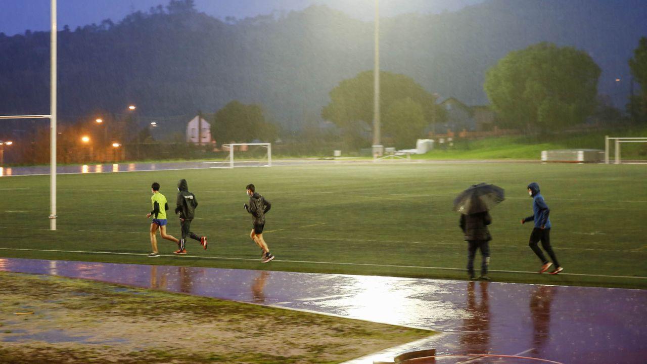 Atletas que solicitaron permisos individuales para entrenarse en las instalaciones de la Universidad