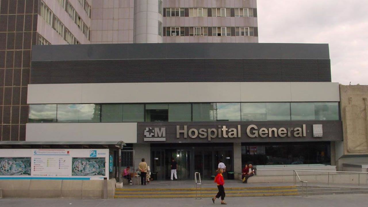 Exteriores del Hospital La Paz de Madrid