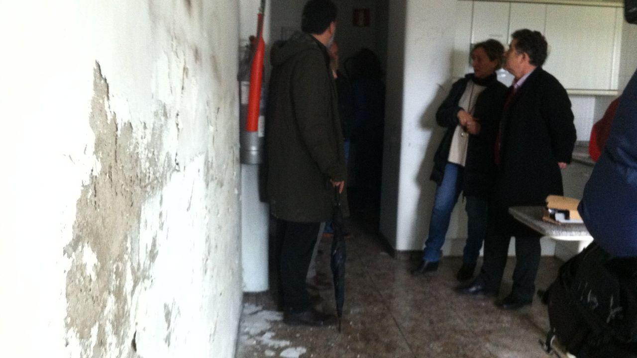 La Fundación Amancio Ortega entrega la escuela Amencer en Bembrive, Vigo.Cuando el Concello recibió la residencia, en el 2015, el estado de las plantas superiores era bastante malo