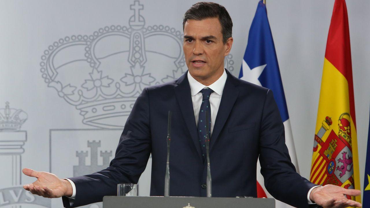 Pedro Sánchez (PSOE).Pedro Sánchez (PSOE). De julio del 2018 hasta la actualidad. Suma de presidente 258 días