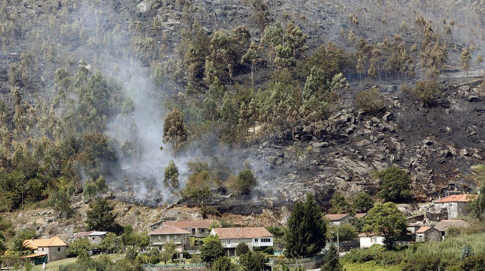 Incendio en Vilariño de Conso