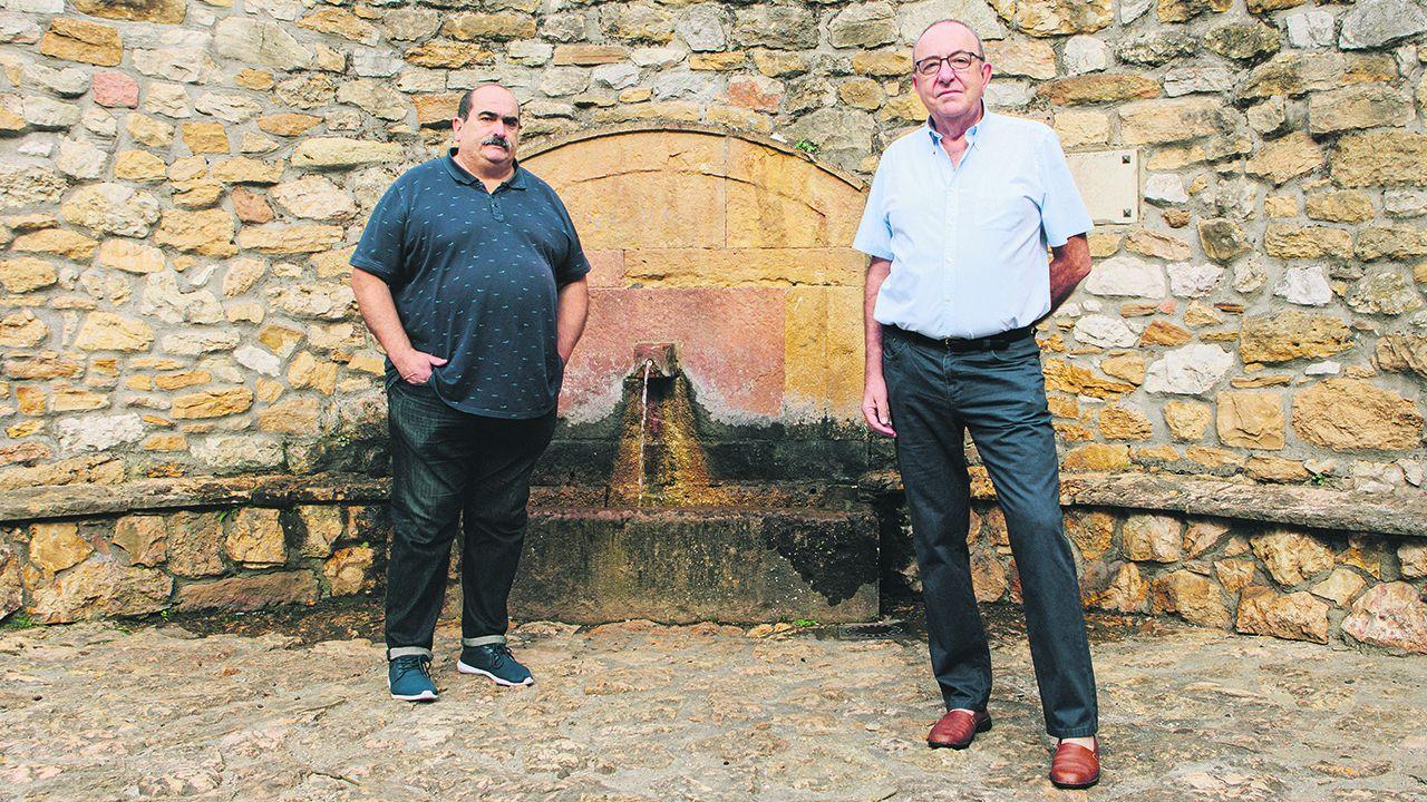 Alfonso Aguirre y César González