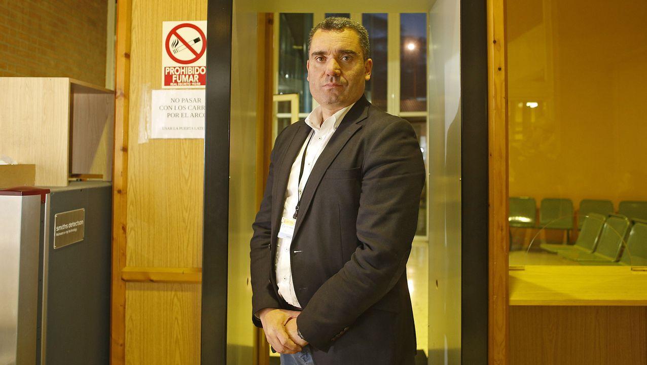 Intervenidas cuatro toneladas de cocaína y detenidas 28 personas en un golpe al narcotráfico en Galicia.José Ángel Vázquez, director de la cárcel de Teixeiro