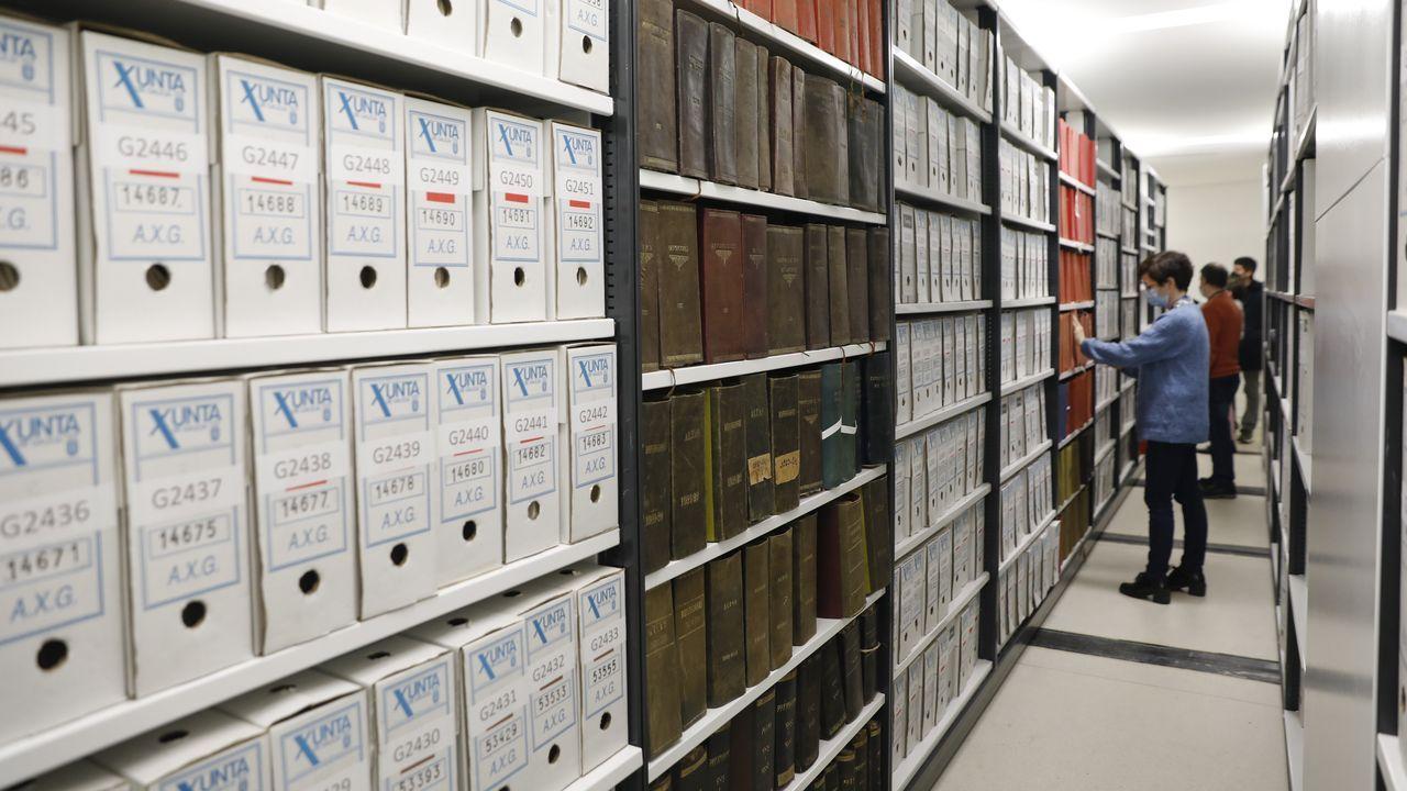 Documentos en el Arquivo de Galicia