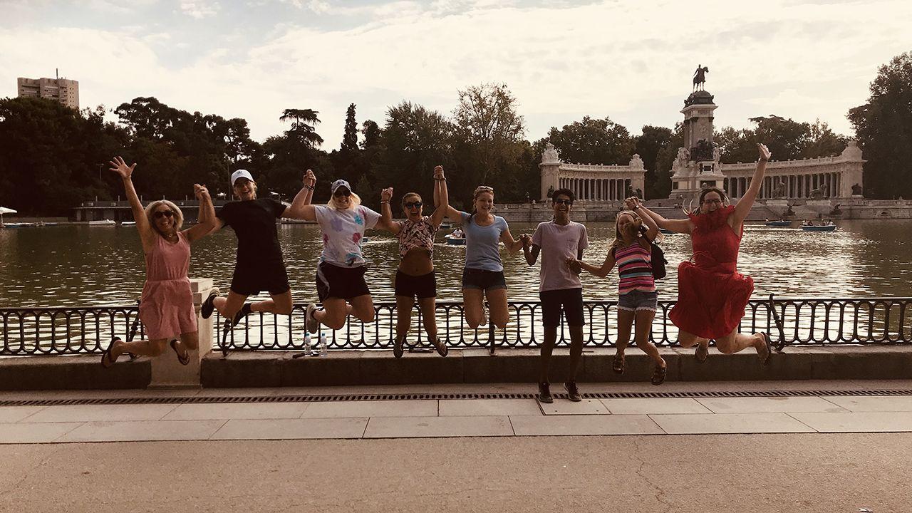 Americanos en Madrid