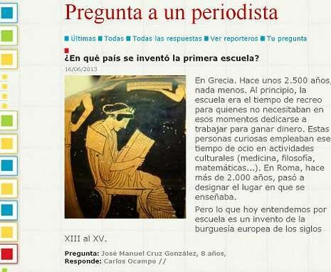 Lanzamiento de Gaia.No dejes de preguntarte cosas, algunas tienen respuesta en la web de Prensa-Escuela.