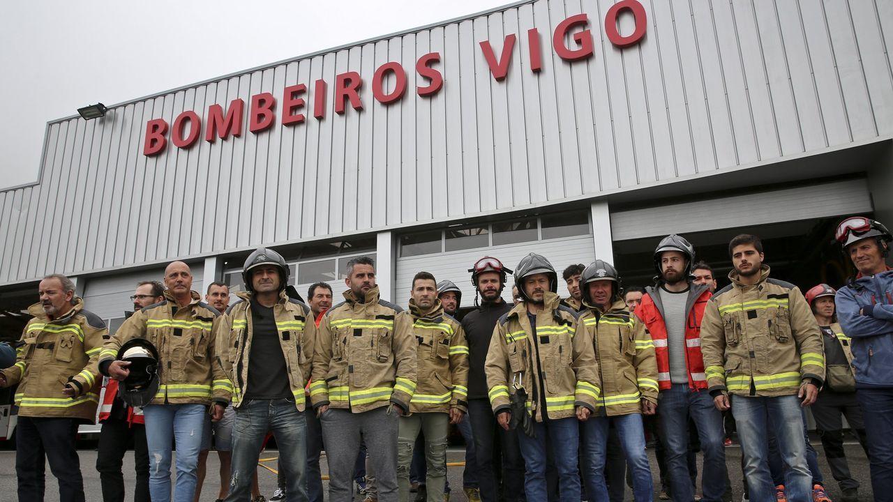 La Policía Nacional celebra su día.Carles Puigdemont, este martes, durante una manifestación en Bruselas para conmemorar el 1-O
