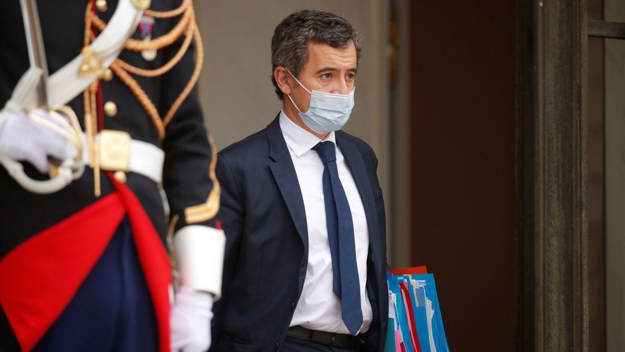 El ministro del Interior, Gérald Darmanin, en una imagen de archivo