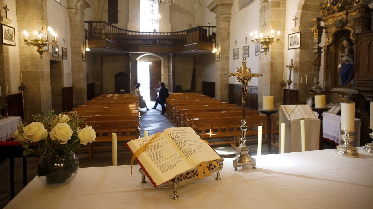 Iglesia do Carme de Lugo, la única de la ciudad situada en el Camino de Santiago