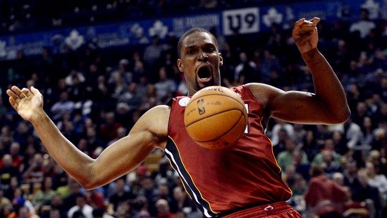 Retiran la camiseta de O'Neal.Chris Bosh, en la victoria de Miami Heat sobre Toronto