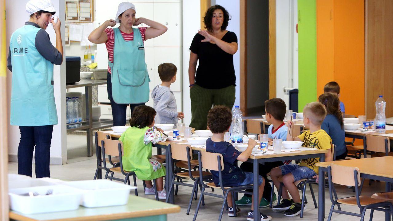 En la imagen de archivo, el colegio Illas Cíes de Coia