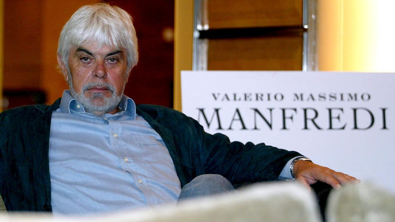 Manfredi ha vendido doce millones de ejemplares de su veintena de novelas