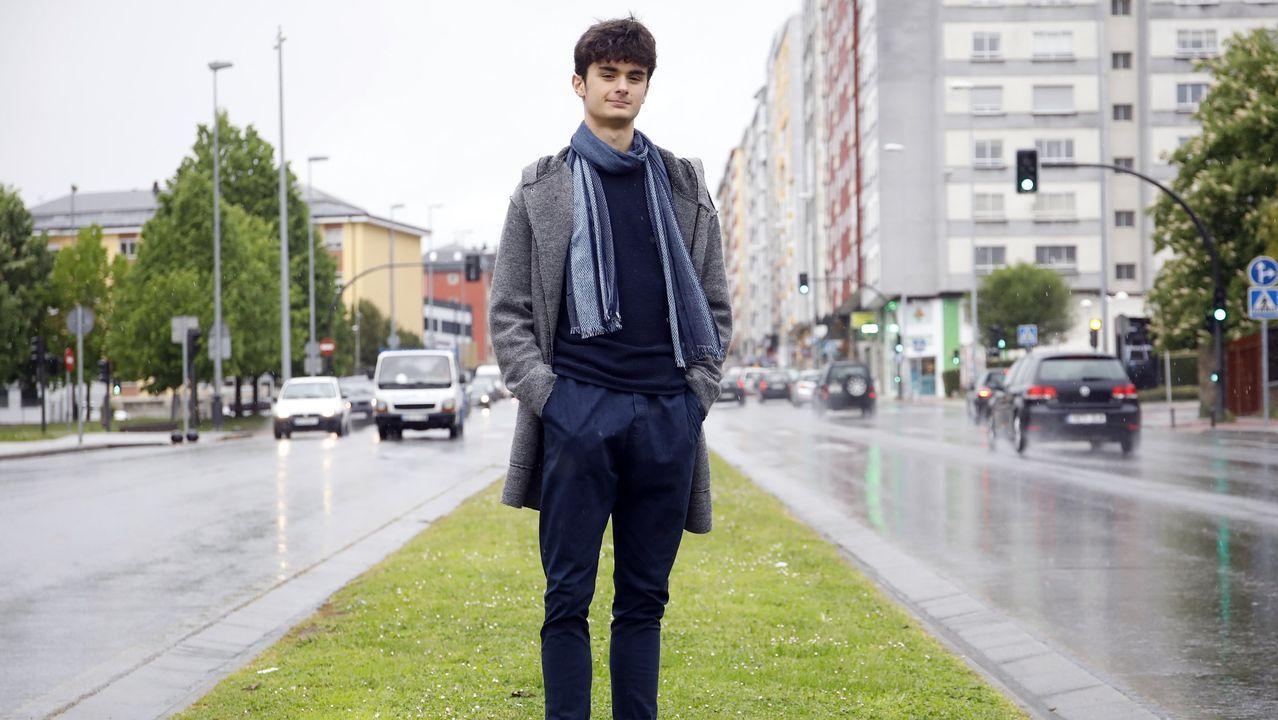 Samuel comenzó el pasado otoño sus estudios de ballet clásico en Londres