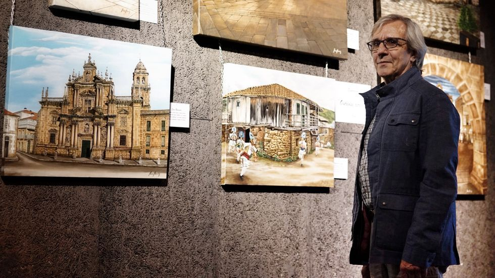 Paco Ascón presenta su novela en A Veiga