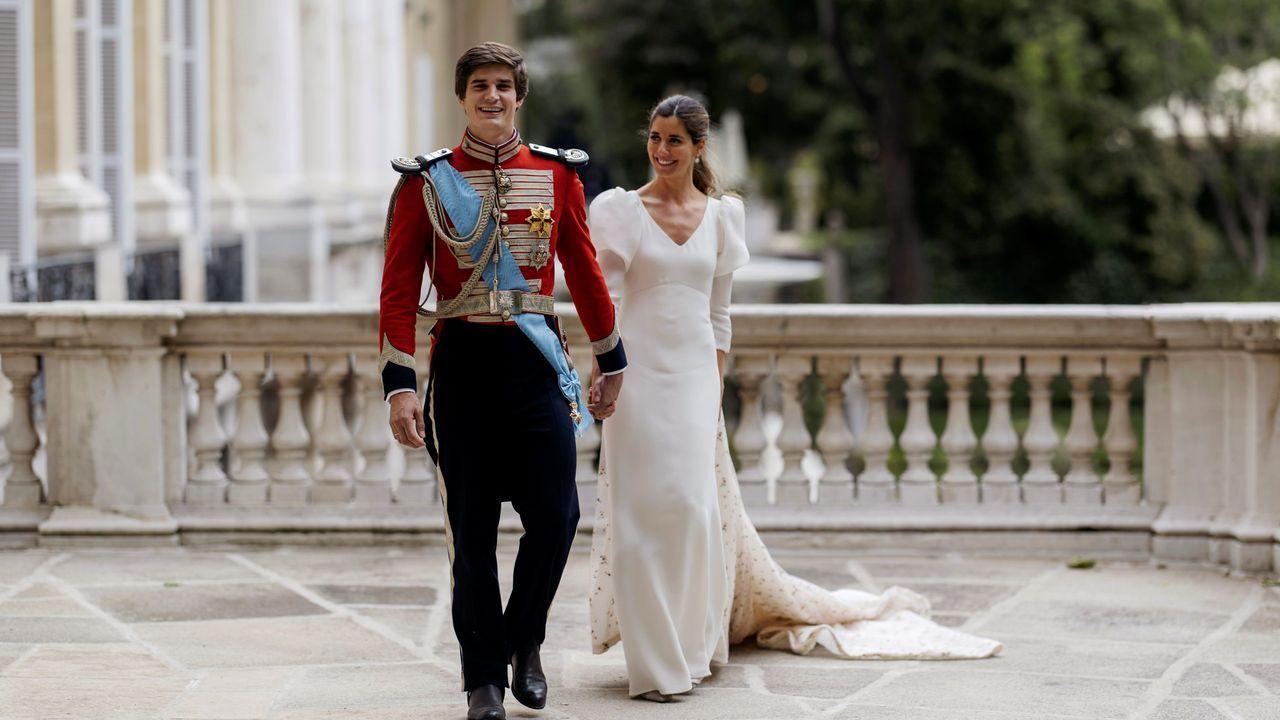 La boda que unió la aristocracia y el mundo financiero.Canteras del lado norte del monte Naranco de Oviedo