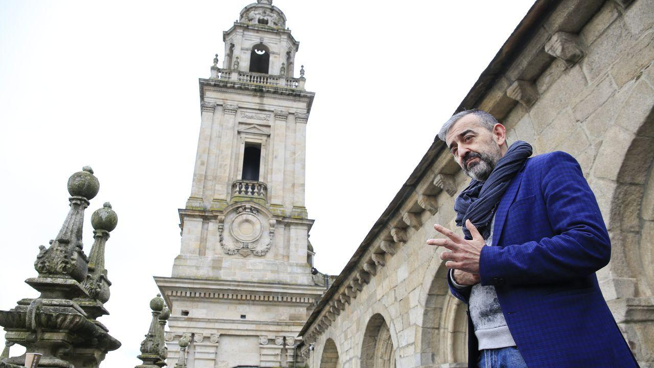 oza.César Carnero es el fabriquero de la Catedral de Lugo