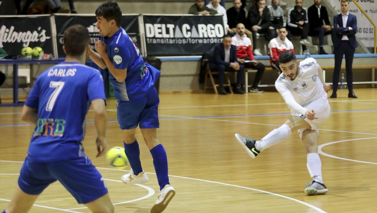 Álex Díaz, en su etapa como entrenador