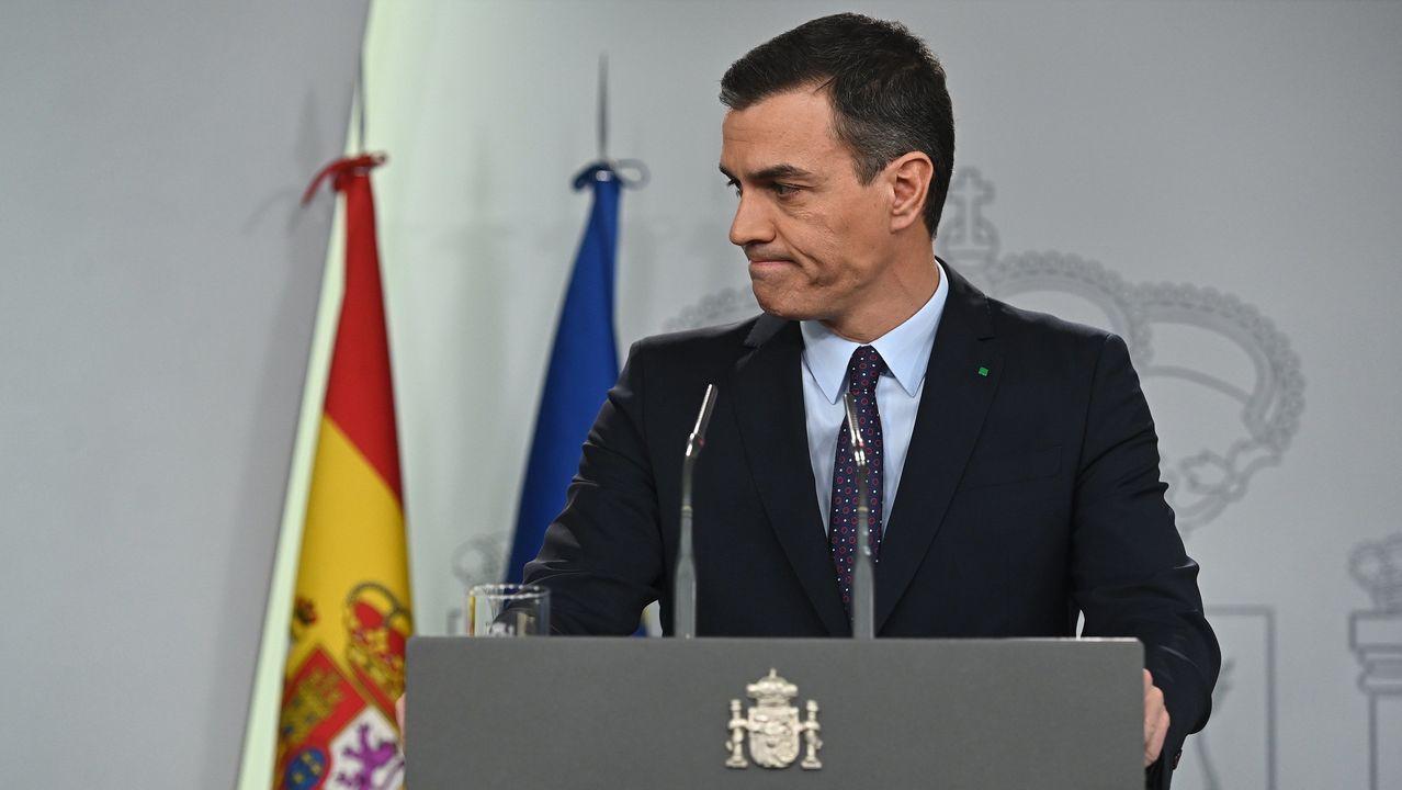Sánchez comparece tras conocerse la decisión del rey de proponerlo como candidato.El presidente del Gobierno en funciones, Pedro Sánchez