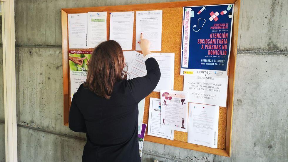 Concentración sindical en la ONCE A Coruña