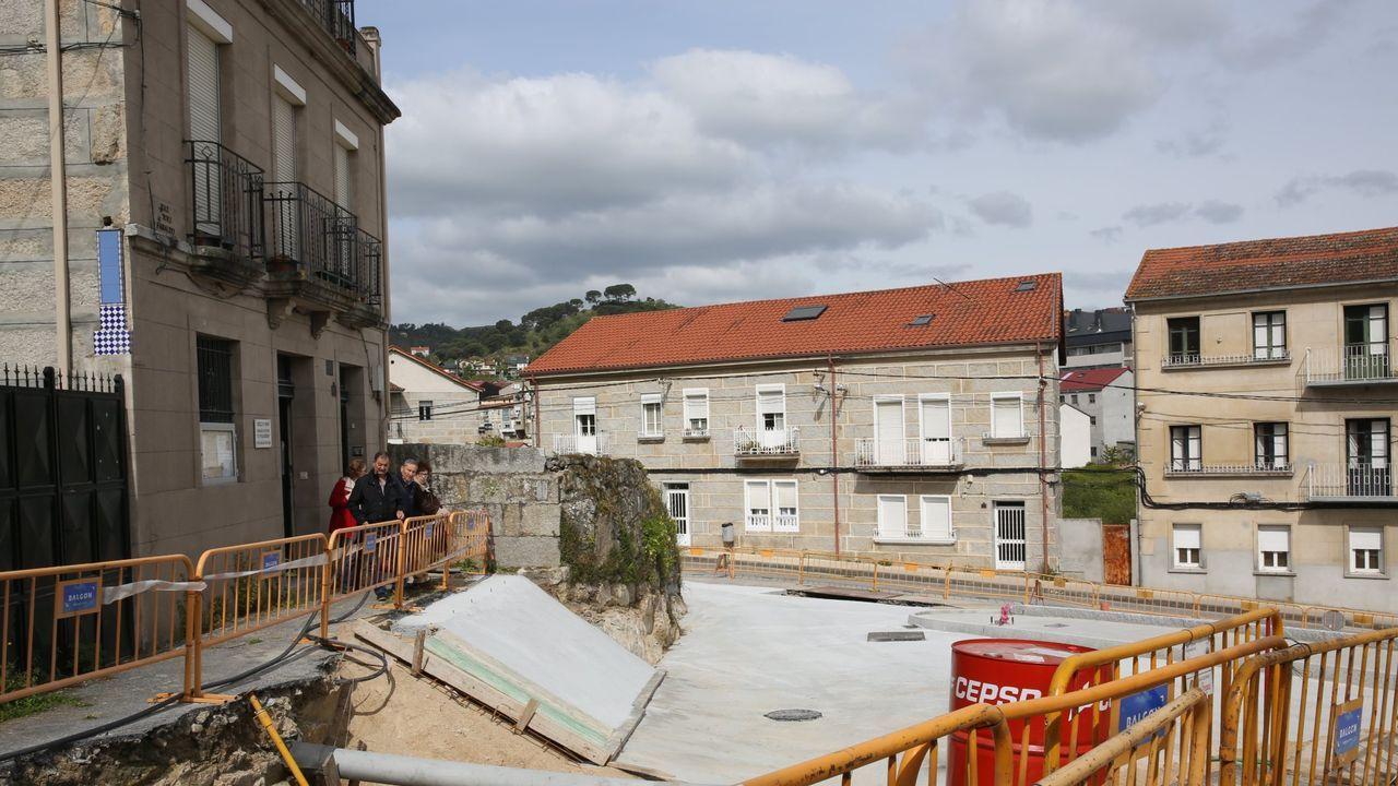 Las tormentas llegan con fuerza a Ourense