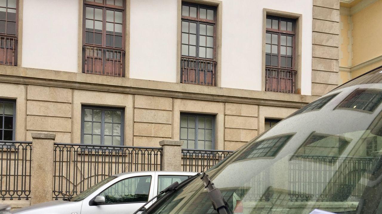 Imagen de archivo de uno de los puntos de encuentro familiar gallegos