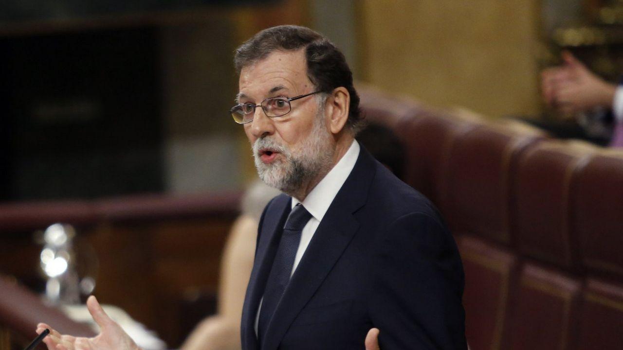 Rajoy retaa la oposición a que presente una moción de censura contra él