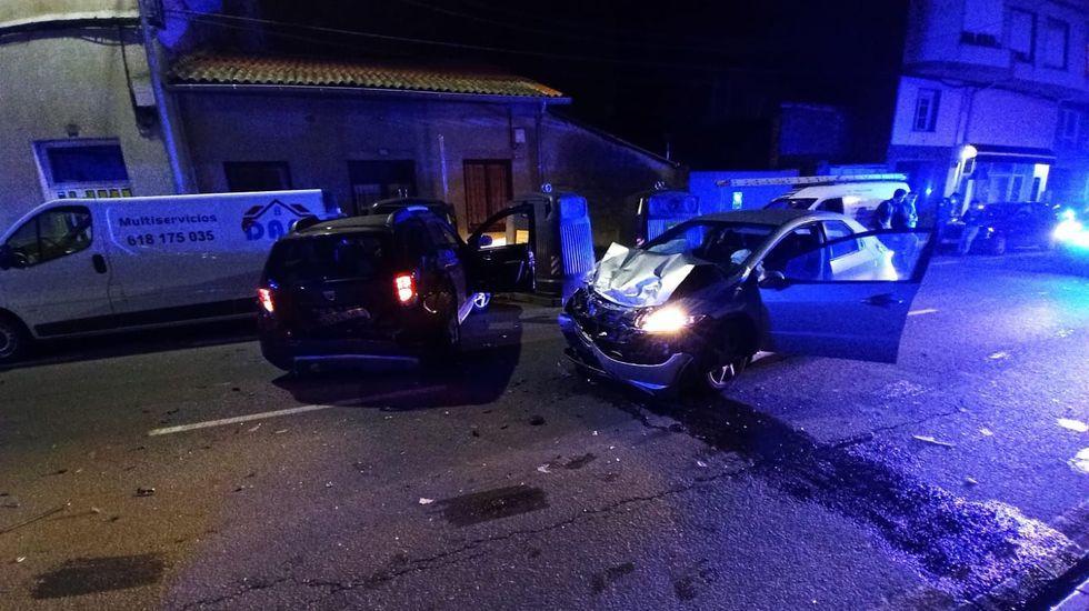 El accidente se produjo el sábado por la noche en la calle Chantada