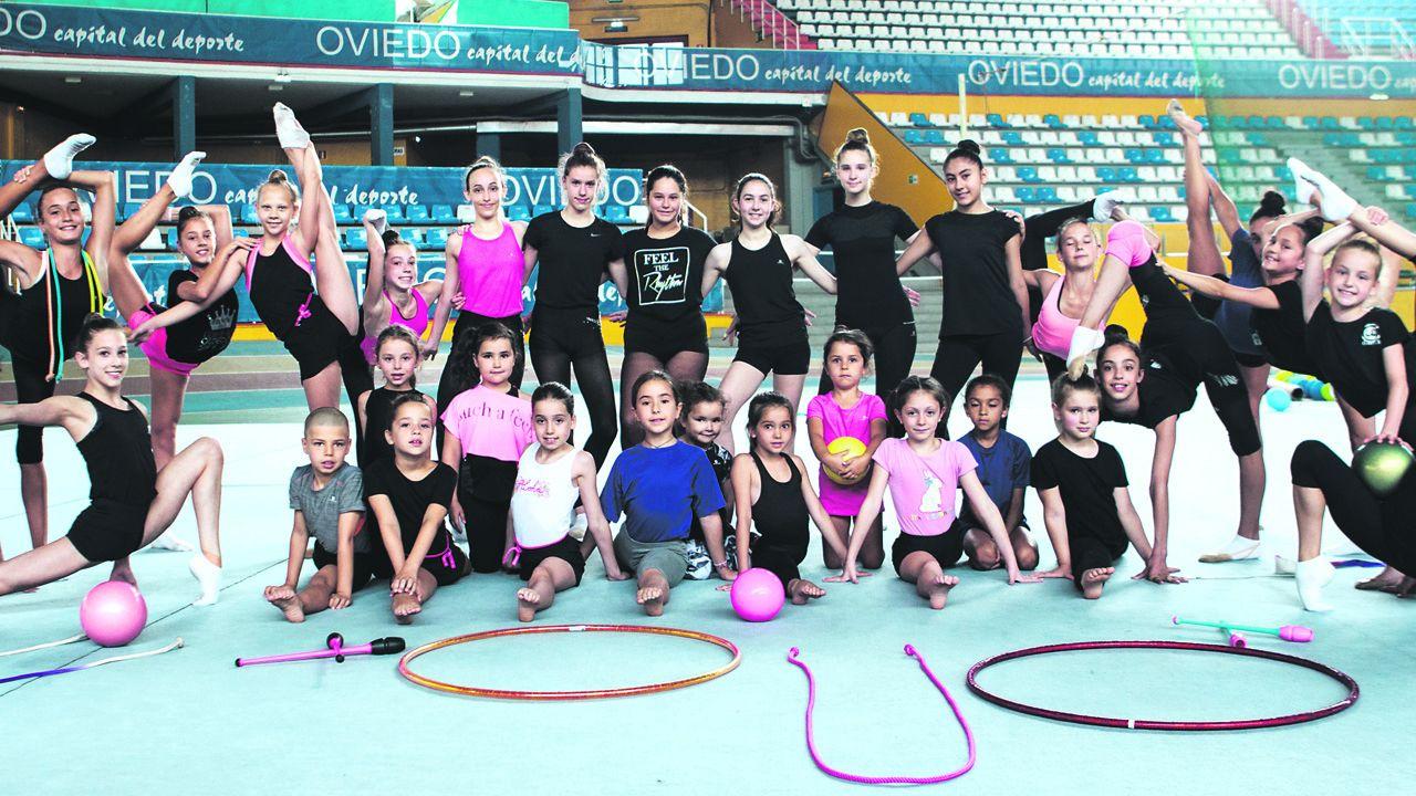Complejo de la fábrica de armas.Club de gimnasia rítmica Omega de Oviedo