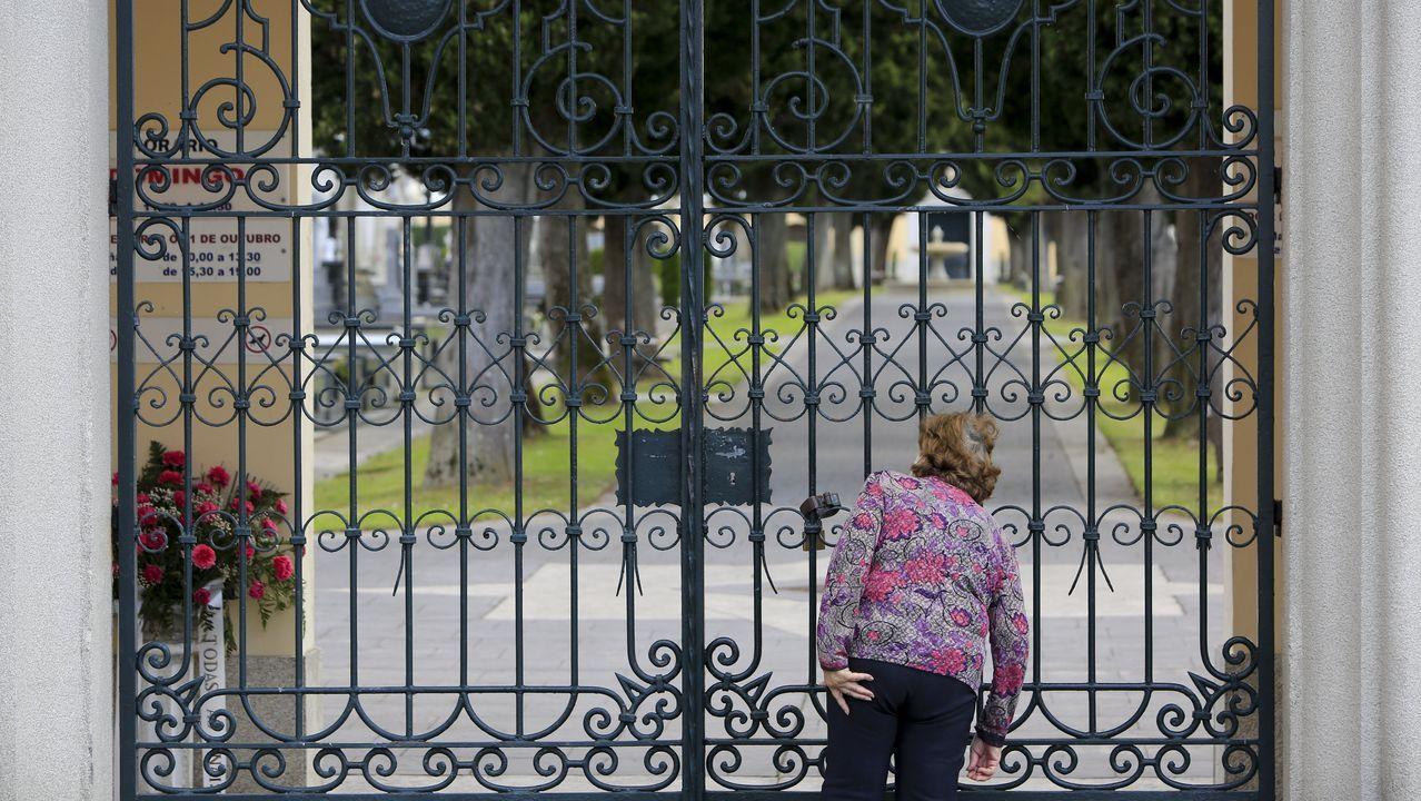 El cementerio estuvo cerrado al público por el coronavirus