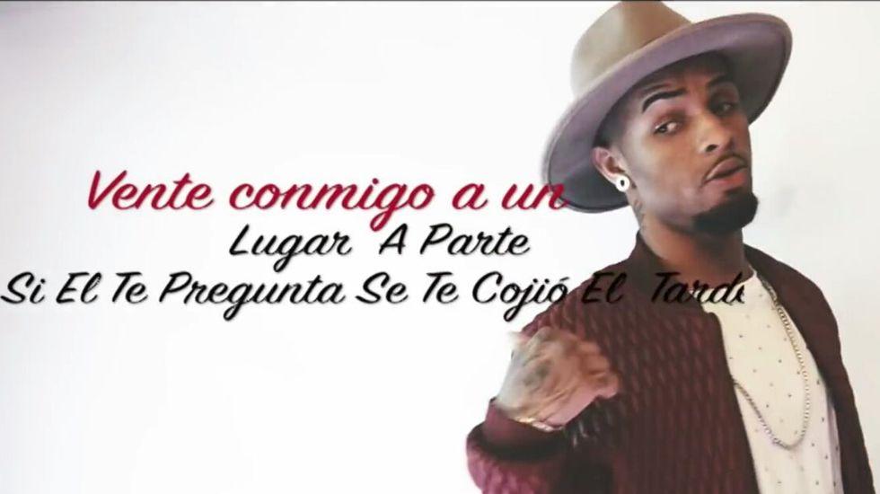 El videoclip de«Miéntele» de Leo Maravilla que ha alcanzado las 3.800 visitas en Youtube.El cantante colombiano J Balvin
