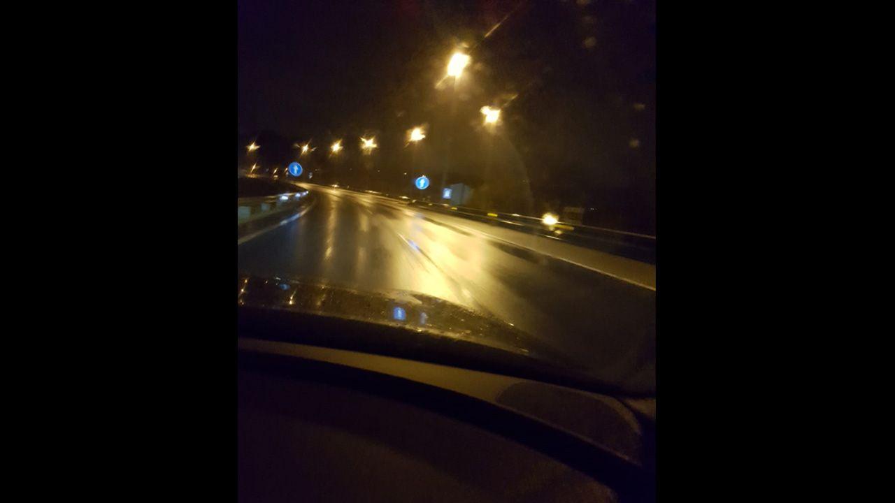 La autopista del Huerna.Una imagen reciente de la autovía del Huerna.
