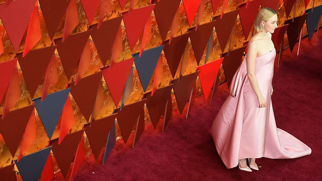 La actriz Saoirse Ronan