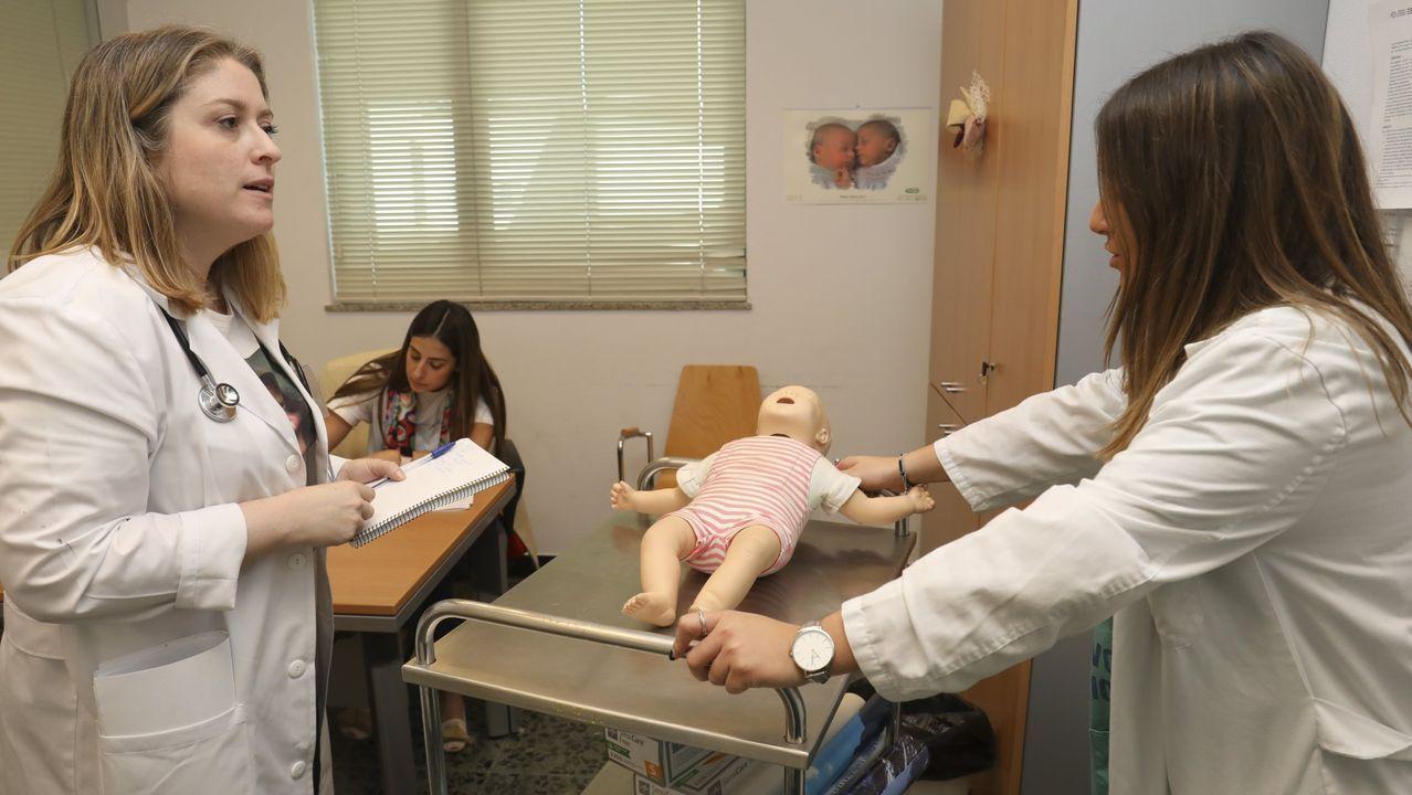 Prácticas en la Facultad de Medicina de Santiago