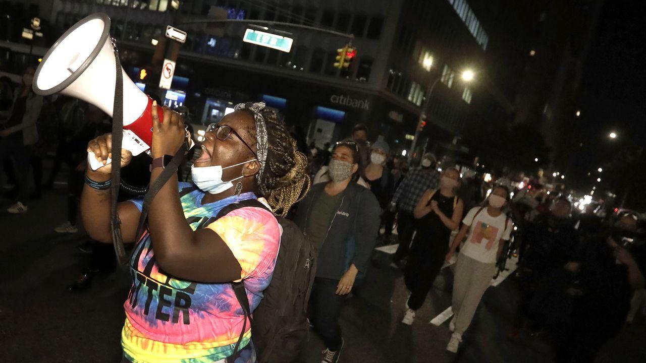 Protestas raciales en Nueva York