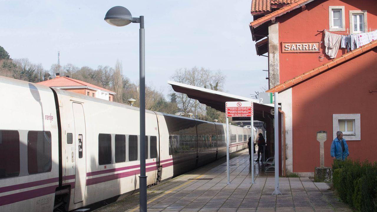 ÁLBUM: La ruta da Marronda en imágenes.Sarria es una de las ocho estaciones de Galicia que ADIF dejará sin trabajadores