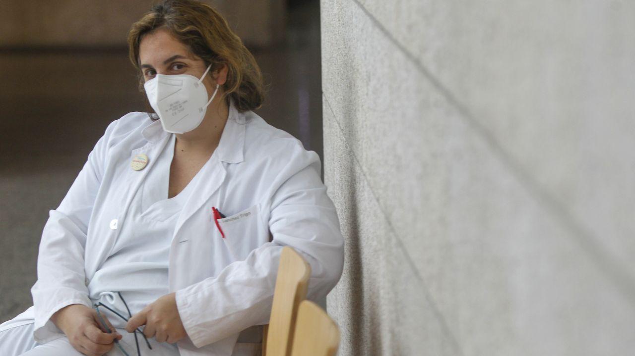 Sabela Sánchez Trigo, especialista en Medicina Interna