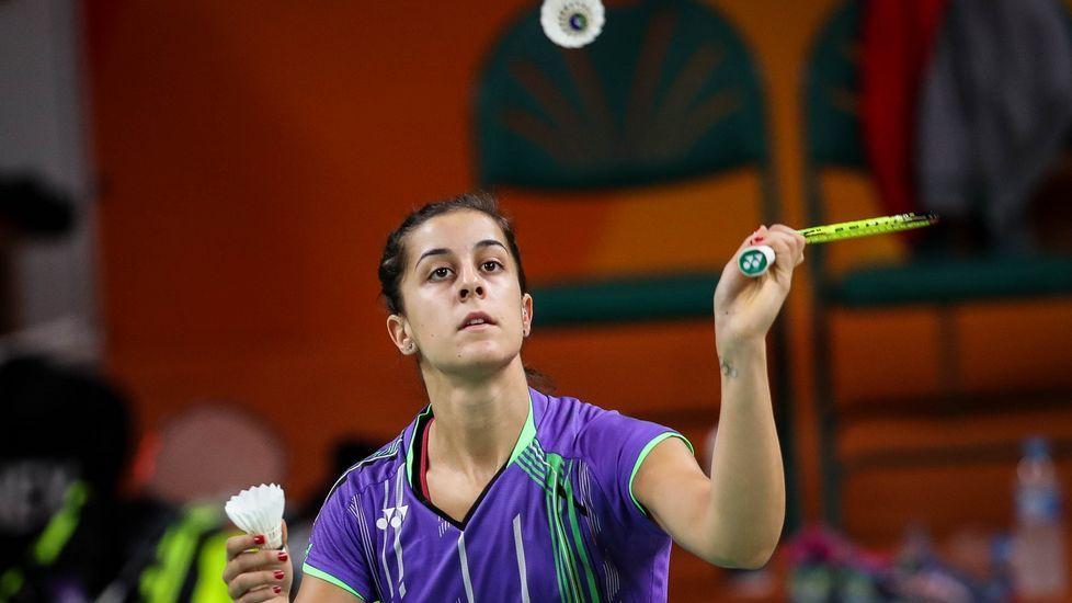 La final de Carolina Marín, en fotos