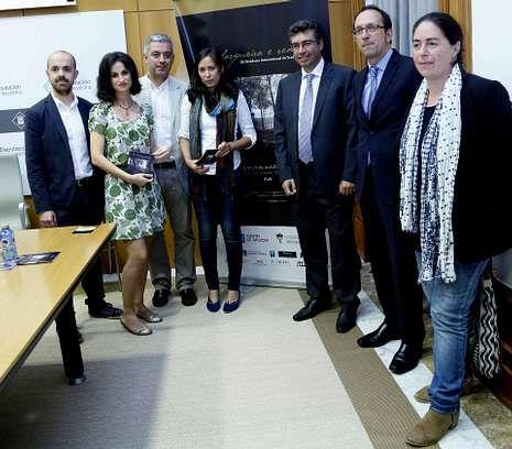 El encuentro poético se presentó ayer en la Diputación de Pontevedra.