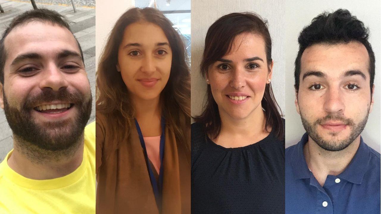 Cuatro gallegos preocupados por el «brexit»
