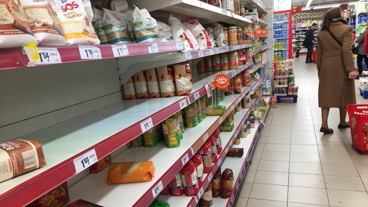El arroz ha sido uno de los alimentos más comprados en los últimos días.