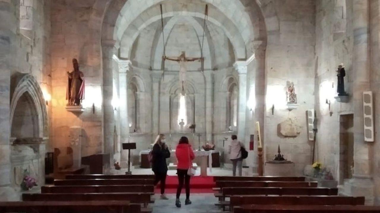 Las visitas a la iglesia se ofrecen por ahora de lunes a viernes en horario de mañana