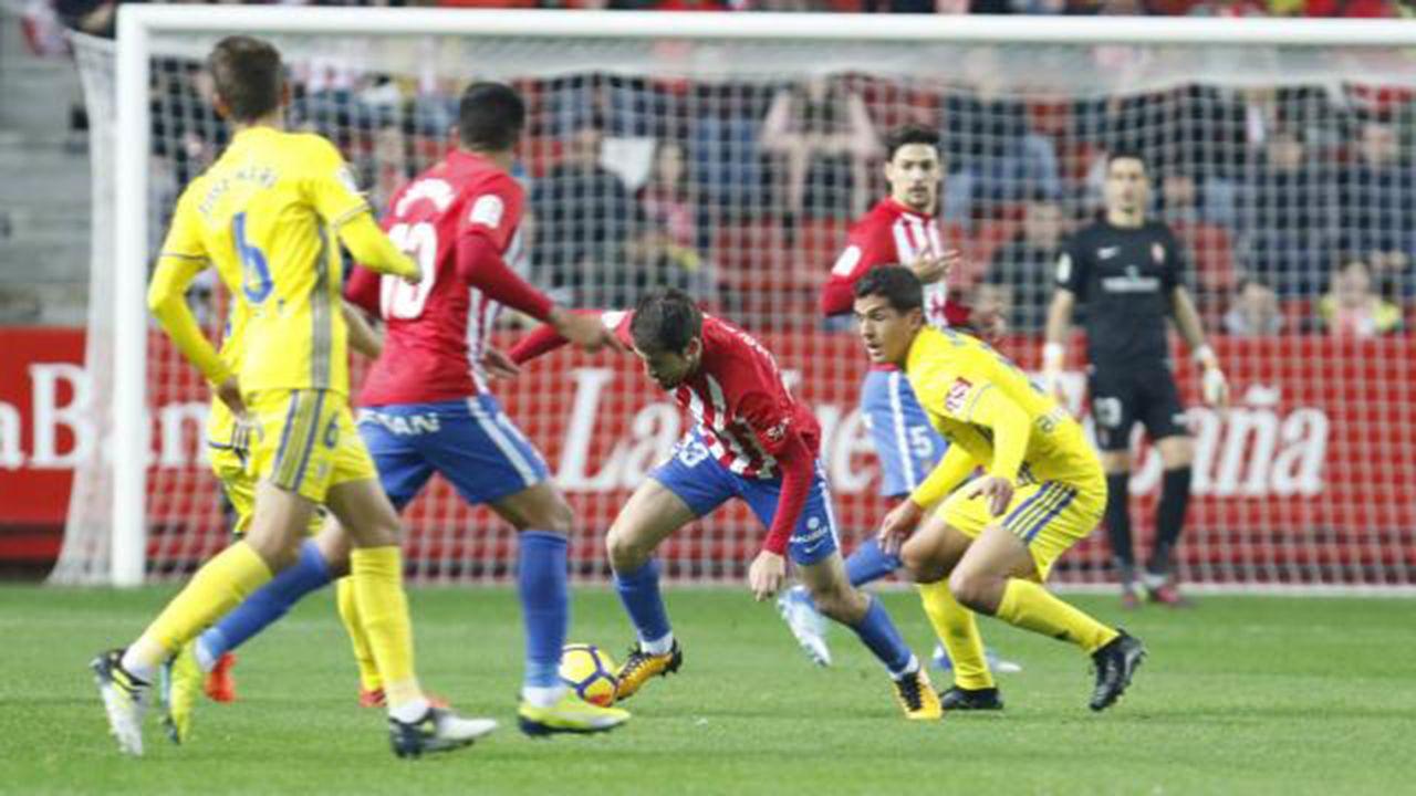 Derrota del Sporting ante el Cádiz