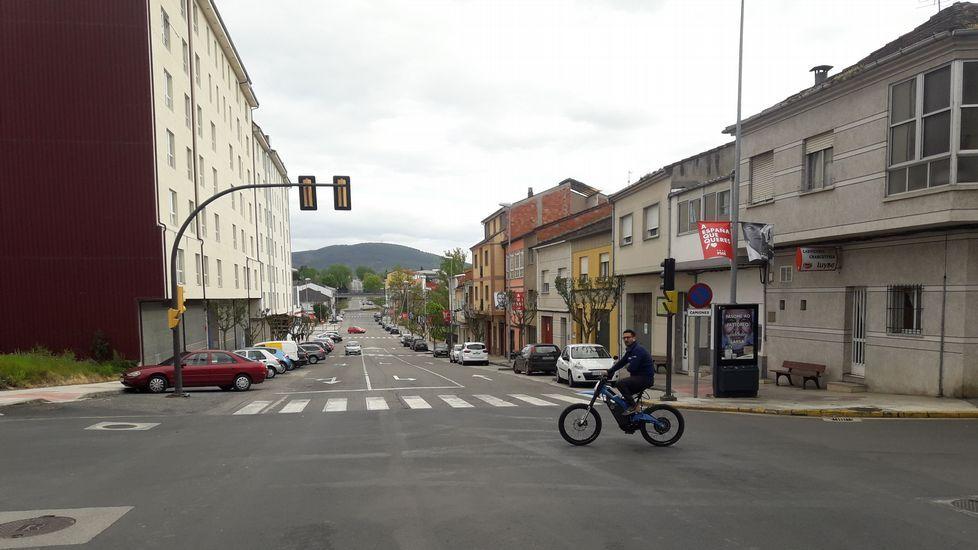 Calle Benito Vicetto, una de las que serán pavimentadas con cargo al plan único