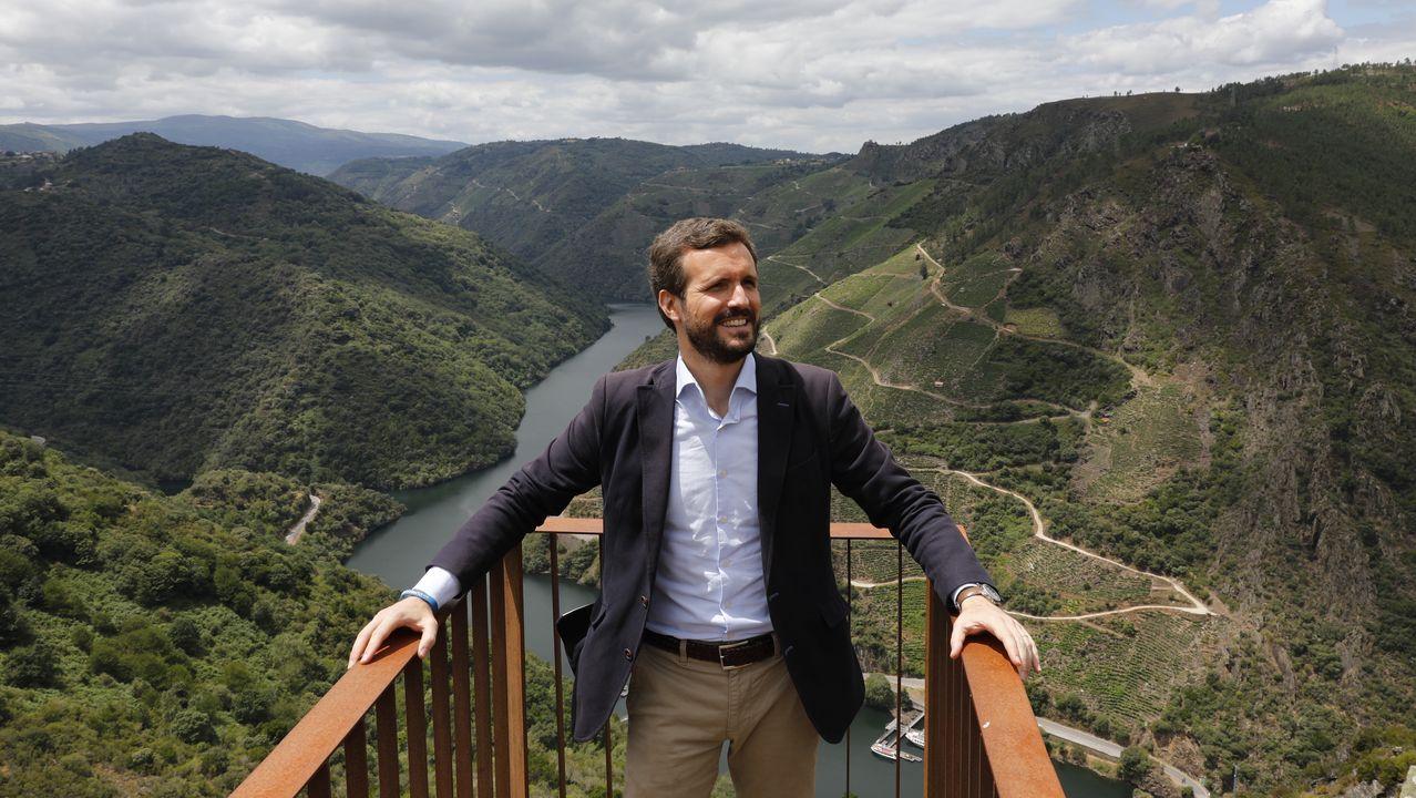 En directo: comparencencia de Gonzalo Caballero.Mitin central del PP en Lugo