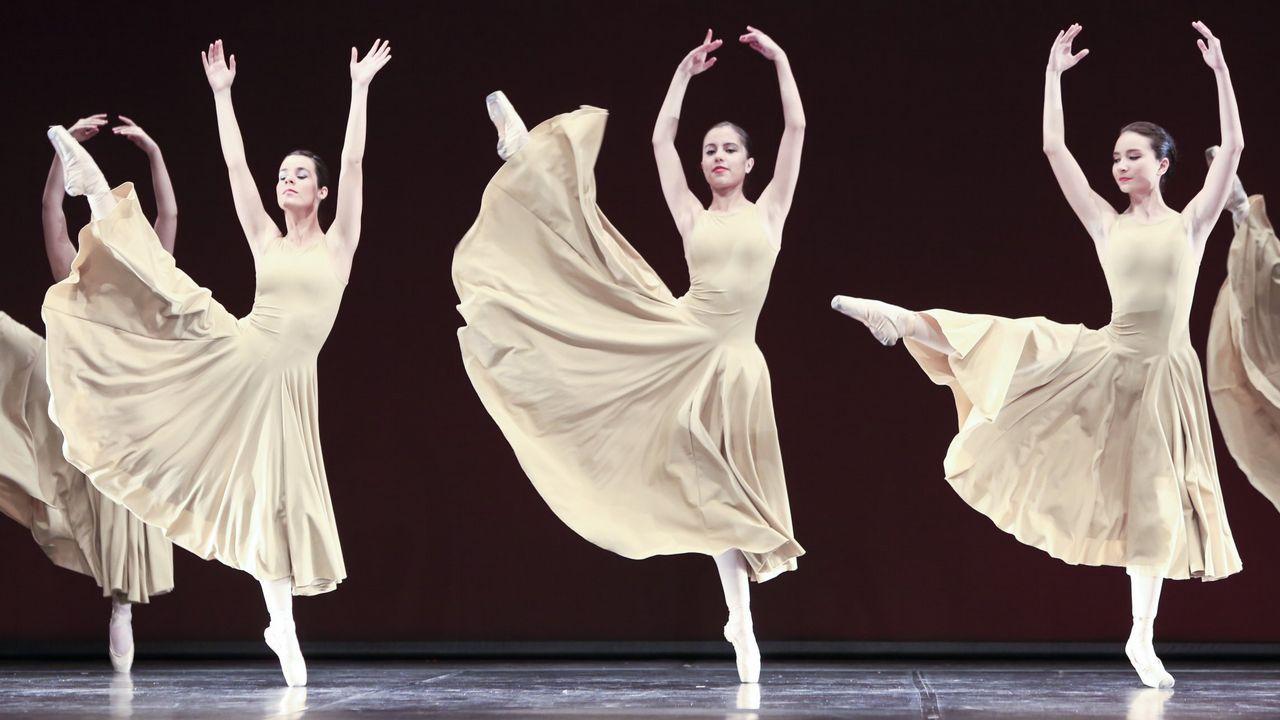 Alumnos del Conservatorio de Danza de Lugo actuarán esta tarde en el Gustavo Freire