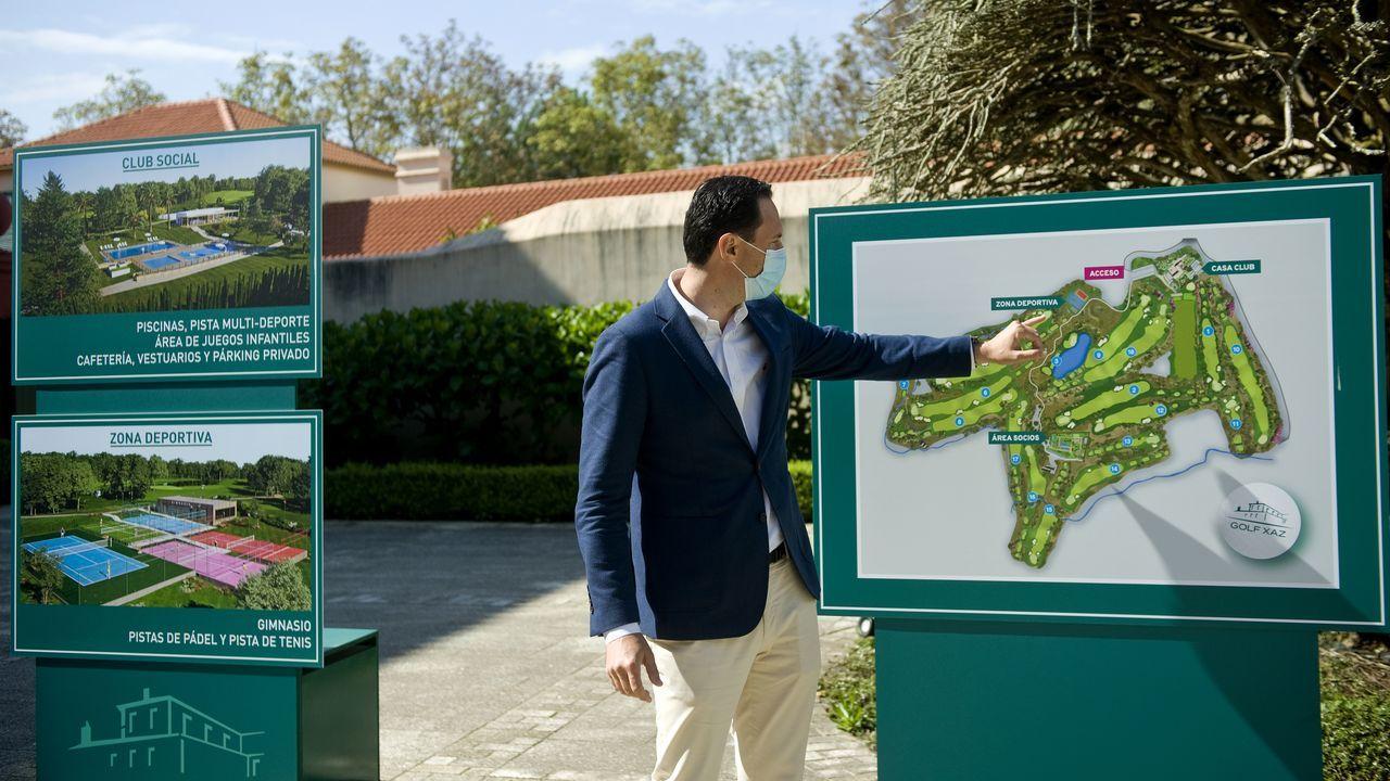 Entramos en Xaz, el campo de golf más exclusivo de Galicia que abre en Oleiros.Daniel Varela, en el campeonato de España