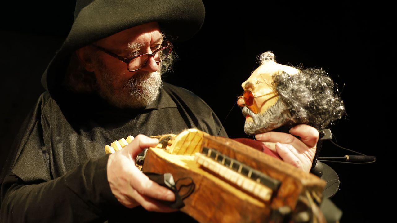 Oli Xiráldez, un luthier de gaitas, requintas e instrumentos medievales con los que reivindica a Galicia.Este lunes se retomará la vacunación con AstraZeneca