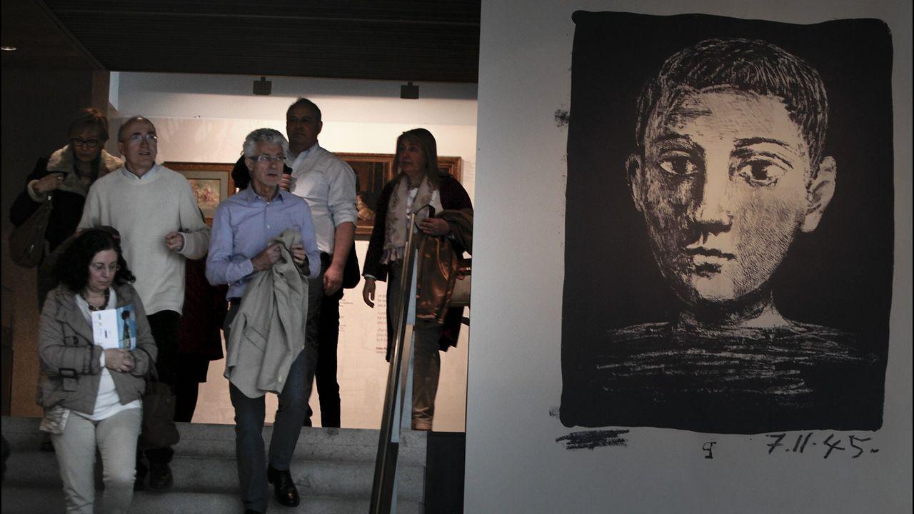 El rey descubrió a Obama los secretos del «Guernica»