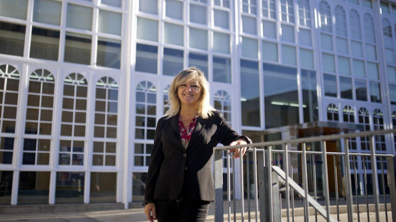 En la imagen, Manuela del Pilar Santos, decana de la Facultad de Humanidades y Documentación, donde se implantará el nuevo grado