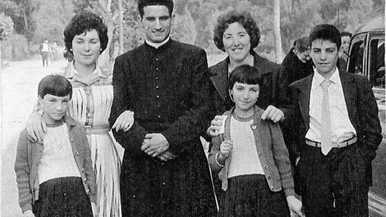 El sacerdote y misionero Juan Alonso Fernández, en su juventud